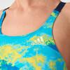 adidas Perf Swim Inf+ Swimsuit Women semi solar yellow/ice yellowicey blue